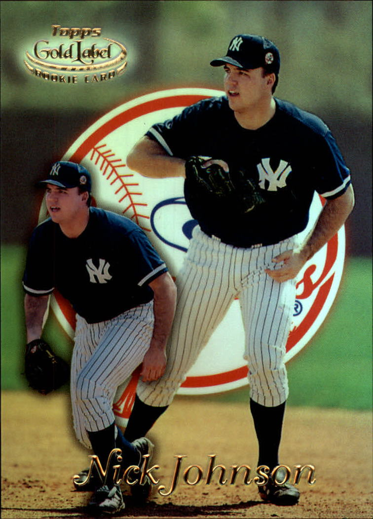 1999 Topps Gold Label Class 1 #33 Nick Johnson RC