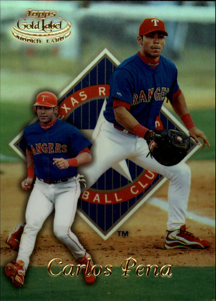 1999 Topps Gold Label Class 1 #90 Carlos Pena RC