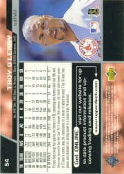 1999 Upper Deck #54 Troy O'Leary back image
