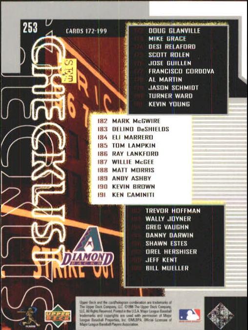 1999 Upper Deck #253 Travis Lee SH CL back image