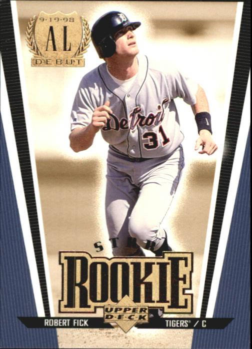 1999 Upper Deck Exclusives Level 2 #268 Robert Fick SR