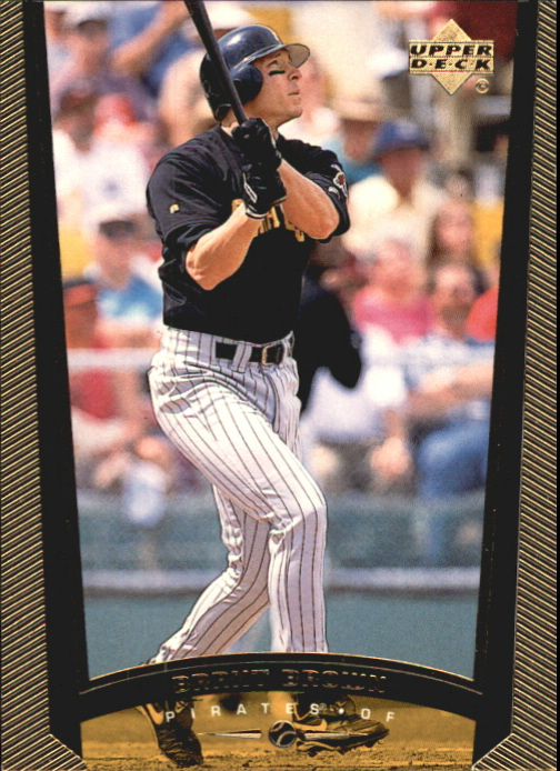 1999 Upper Deck Exclusives Level 2 #460 Brant Brown