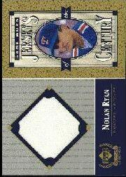 1999 Upper Deck Century Legends Jerseys of the Century #NR Nolan Ryan
