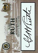 1999 Upper Deck Century Legends Legendary Cuts #BR Babe Ruth