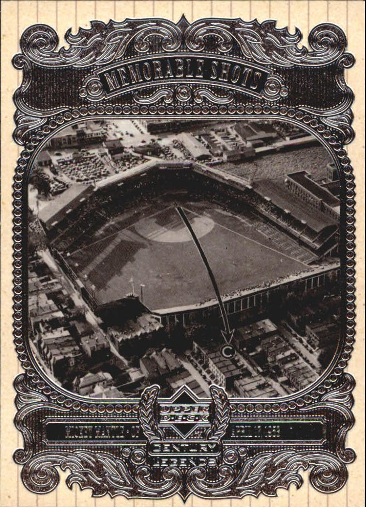 1999 Upper Deck Century Legends Memorable Shots #HR8 M.Mantle Stadium