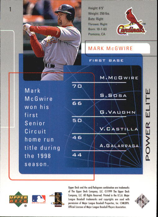 1999-Upper-Deck-Challengers-For-70-Baseball-1-90-Your-Choice-GOTBASEBALLCARDS thumbnail 3