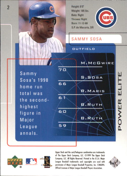 1999-Upper-Deck-Challengers-For-70-Baseball-1-90-Your-Choice-GOTBASEBALLCARDS thumbnail 5