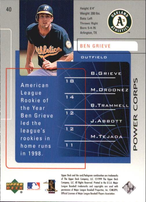 1999-Upper-Deck-Challengers-For-70-Baseball-1-90-Your-Choice-GOTBASEBALLCARDS thumbnail 73