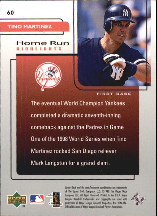 1999-Upper-Deck-Challengers-For-70-Baseball-1-90-Your-Choice-GOTBASEBALLCARDS thumbnail 107