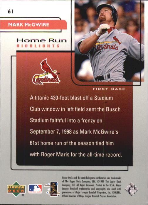 1999-Upper-Deck-Challengers-For-70-Baseball-1-90-Your-Choice-GOTBASEBALLCARDS thumbnail 109