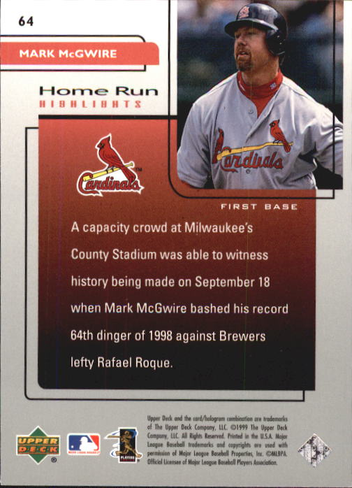 1999-Upper-Deck-Challengers-For-70-Baseball-1-90-Your-Choice-GOTBASEBALLCARDS thumbnail 115