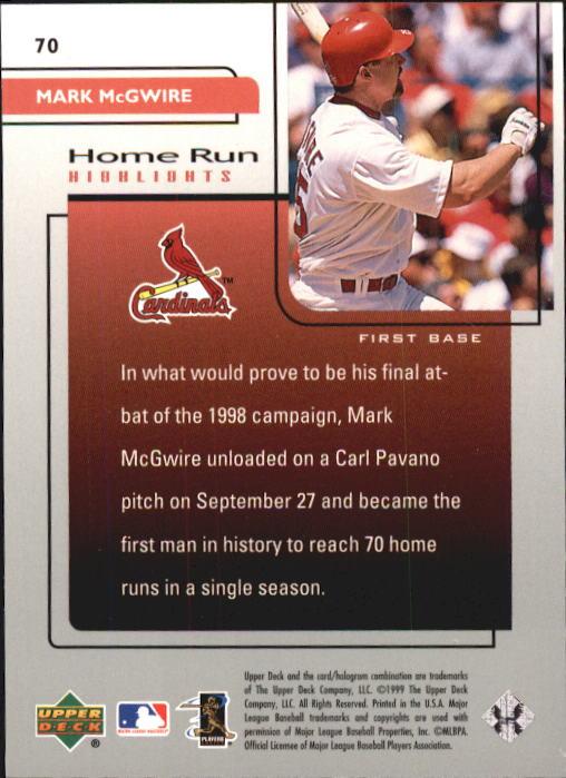1999-Upper-Deck-Challengers-For-70-Baseball-1-90-Your-Choice-GOTBASEBALLCARDS thumbnail 127