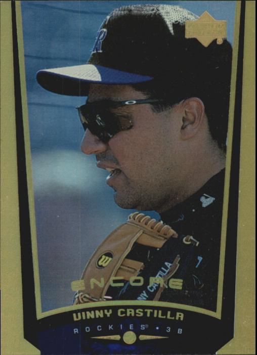 1999 Upper Deck Encore FX Gold #33 Vinny Castilla