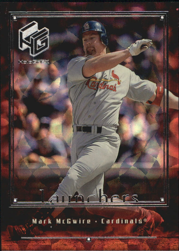 1999 Upper Deck HoloGrFX Launchers #L1 Mark McGwire