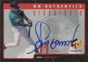 1999 Upper Deck HoloGrFX UD Authentics #AG Alex Gonzalez