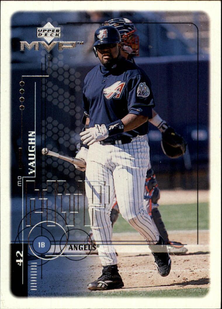 1999 Upper Deck MVP #1 Mo Vaughn