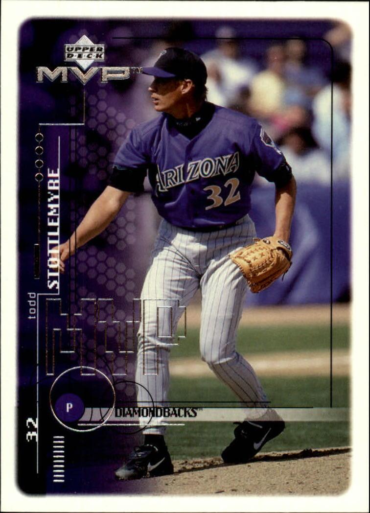 1999 Upper Deck MVP #12 Todd Stottlemyre