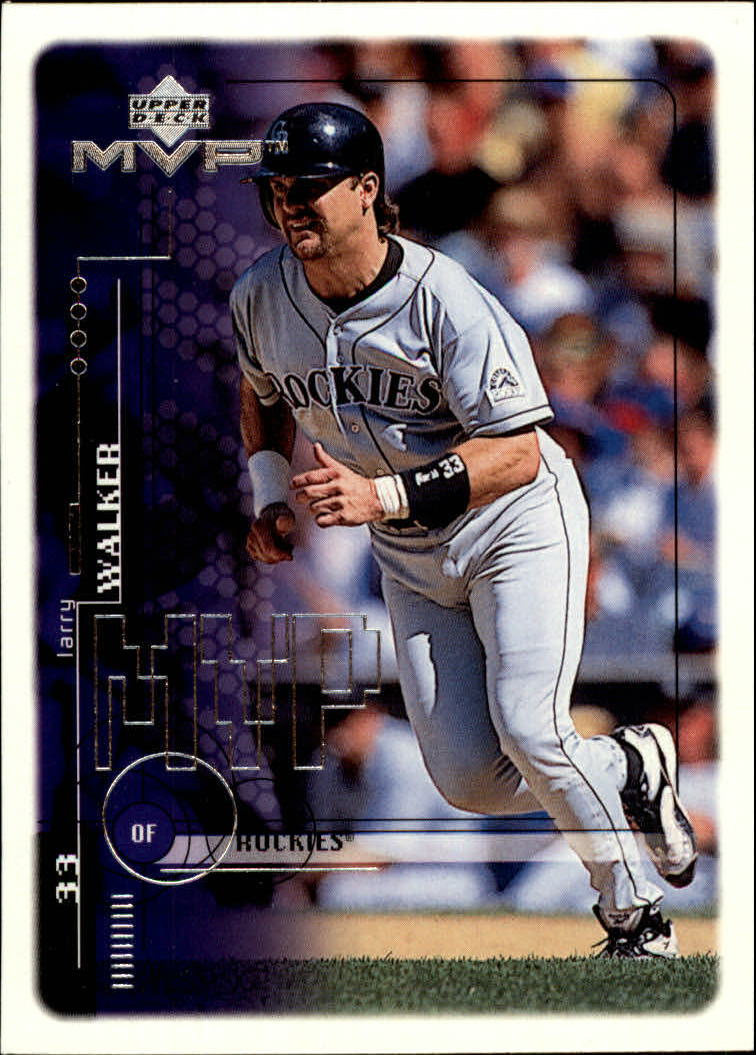 15a402ed7 1999 Upper Deck MVP  73 Larry Walker - NM-MT