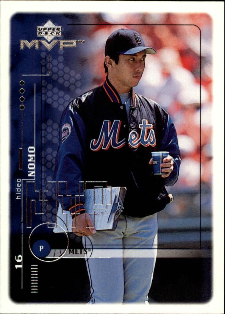 1999 Upper Deck MVP #135 Hideo Nomo