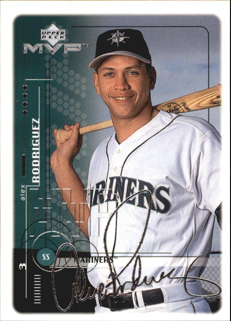1999 Upper Deck MVP Silver Script #191 Alex Rodriguez