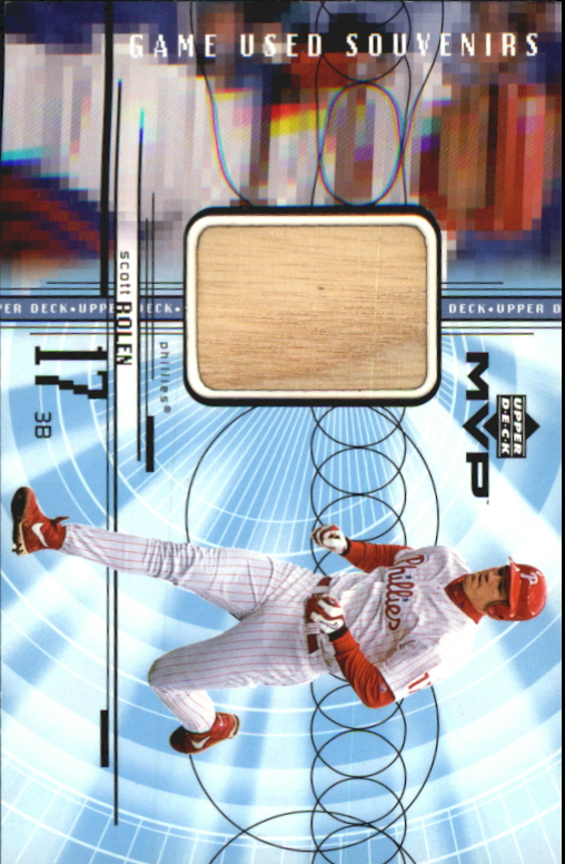 1999 Upper Deck MVP Game Used Souvenirs #GUSR Scott Rolen