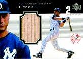 1999 Upper Deck Ovation A Piece of History #DJ Derek Jeter