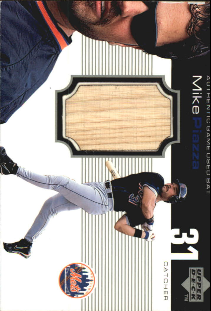 1999 Upper Deck Ovation A Piece of History #MP Mike Piazza