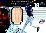 1999 Upper Deck Ovation A Piece of History #TG Tony Gwynn