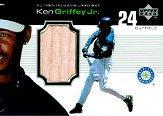 1999 Upper Deck Ovation A Piece of History #KGJ Ken Griffey Jr.