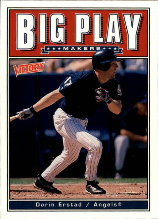 1999 Upper Deck Victory #4 Darin Erstad BP