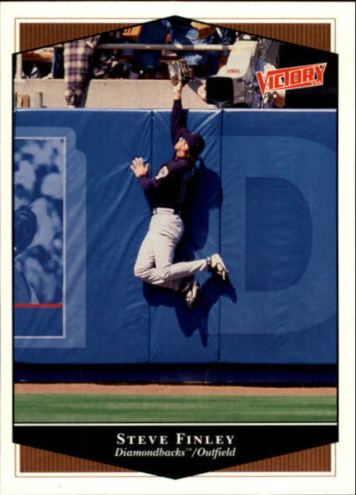1999 Upper Deck Victory #21 Steve Finley