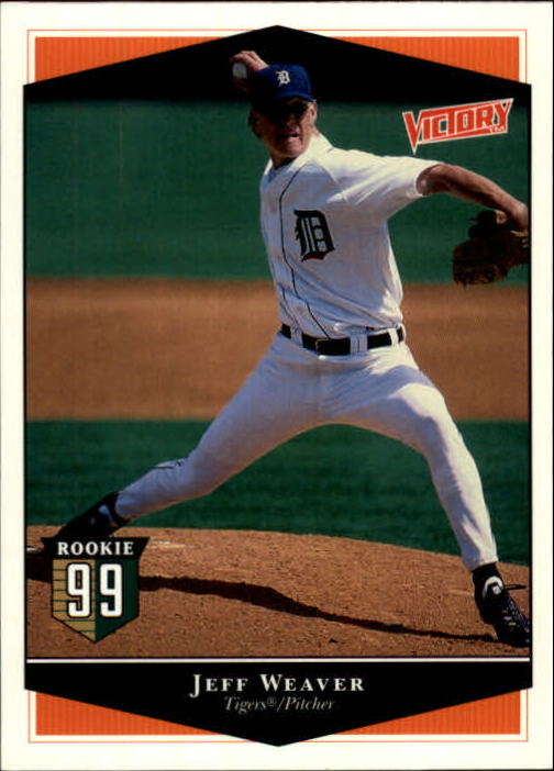 1999 Upper Deck Victory #141 Jeff Weaver RC