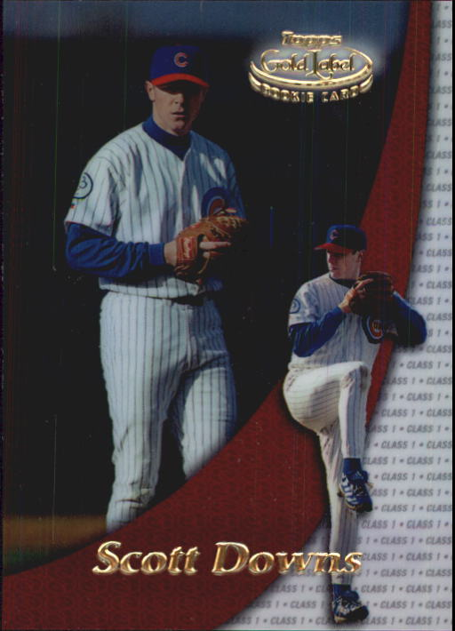 2000 Topps Gold Label Class 1 #99 Scott Downs RC