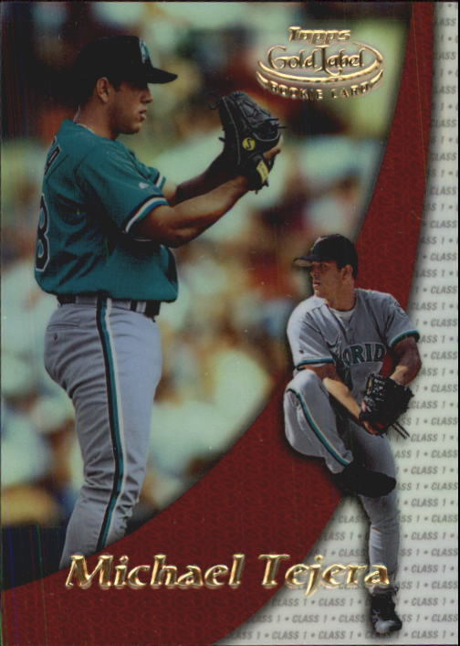 2000 Topps Gold Label Class 1 #100 Michael Tejera RC