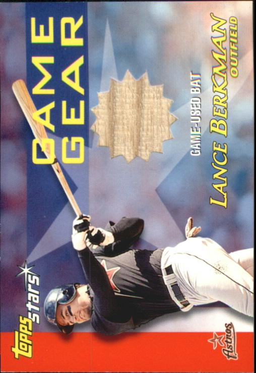 2000 Topps Stars Game Gear Bats #GGB10 Lance Berkman C
