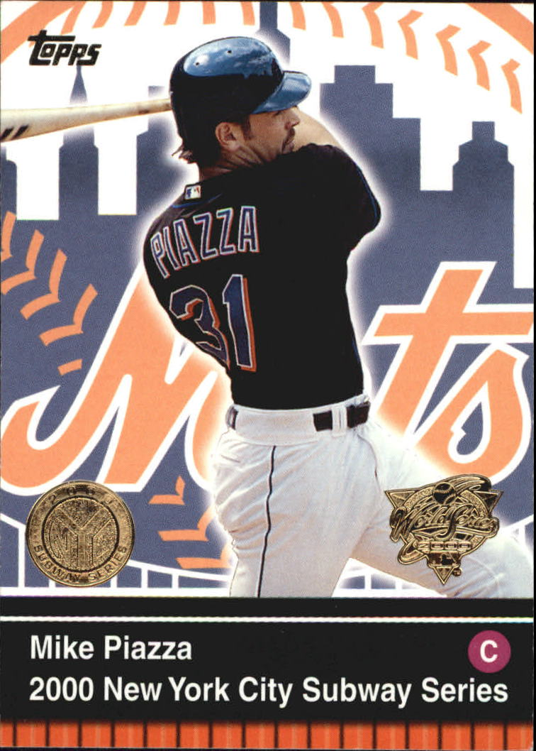 2000 Topps Subway Series #1 Mike Piazza