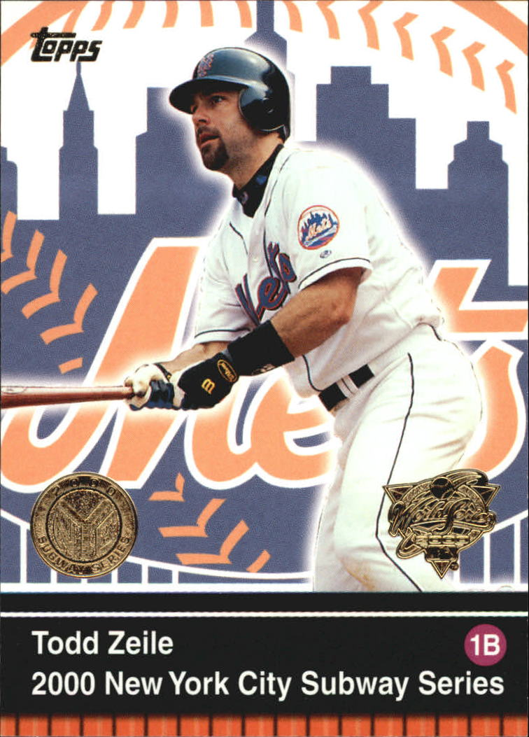2000 Topps Subway Series #5 Todd Zeile