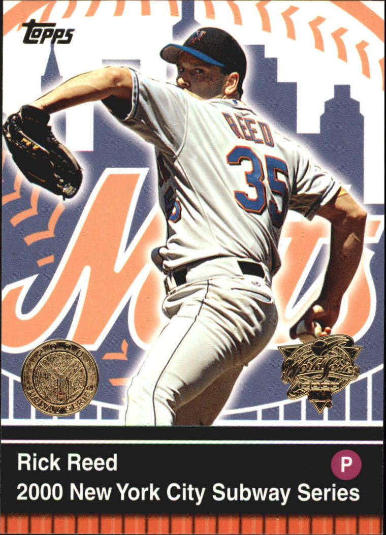 2000 Topps Subway Series #18 Rick Reed