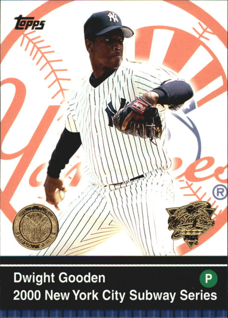 2000 Topps Subway Series #45 Dwight Gooden