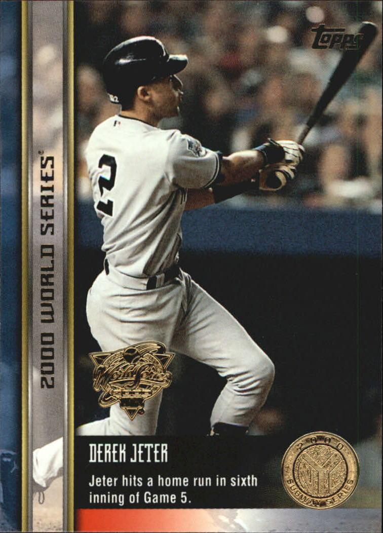 2000 Topps Subway Series #95 Derek Jeter