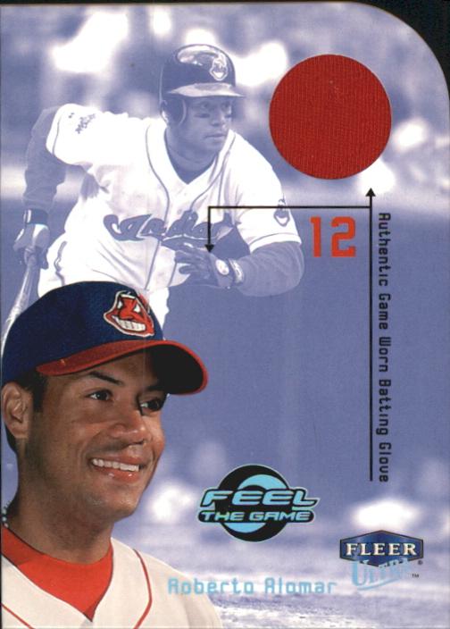 2000 Ultra Feel the Game #3 Rob Alomar Btg Glv SP