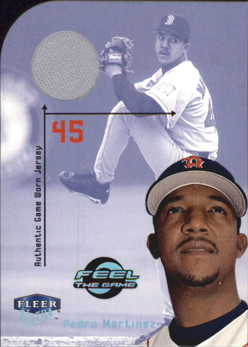 2000 Ultra Feel the Game #5 Pedro Martinez Jsy