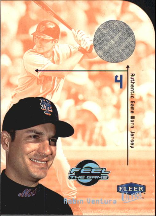 2000 Ultra Feel the Game #7 Robin Ventura Jsy