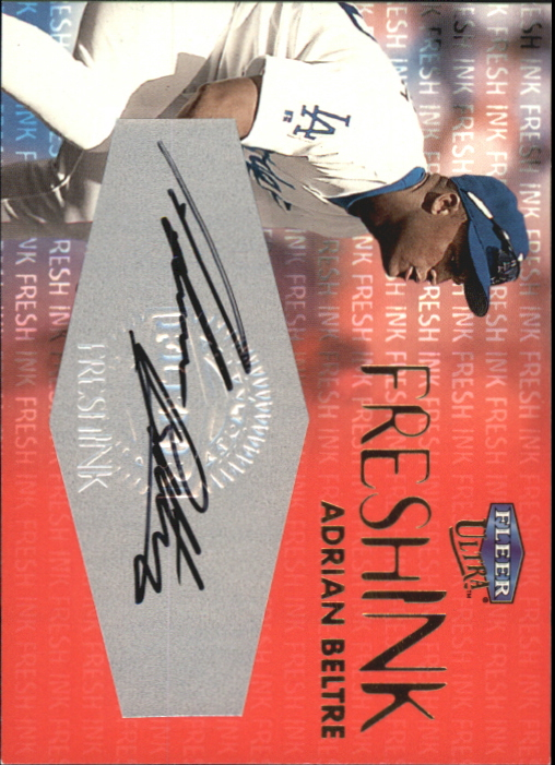 2000 Ultra Fresh Ink #8 Adrian Beltre/900