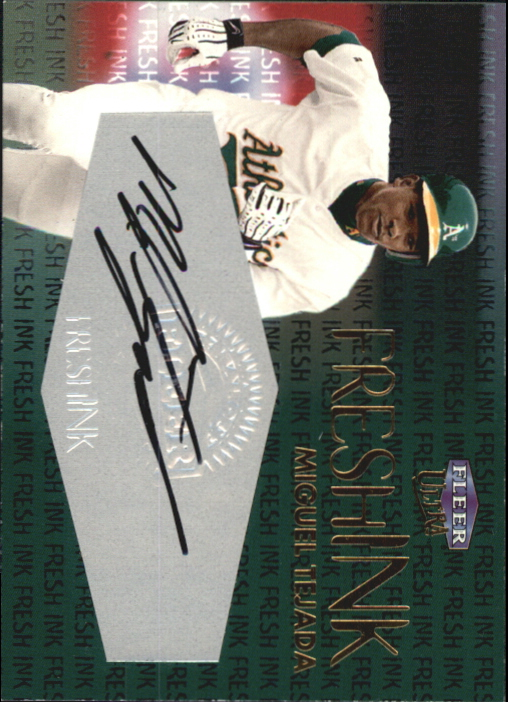 2000 Ultra Fresh Ink #56 Miguel Tejada/1000