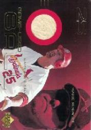 2000 Upper Deck Game Ball #BMM Mark McGwire