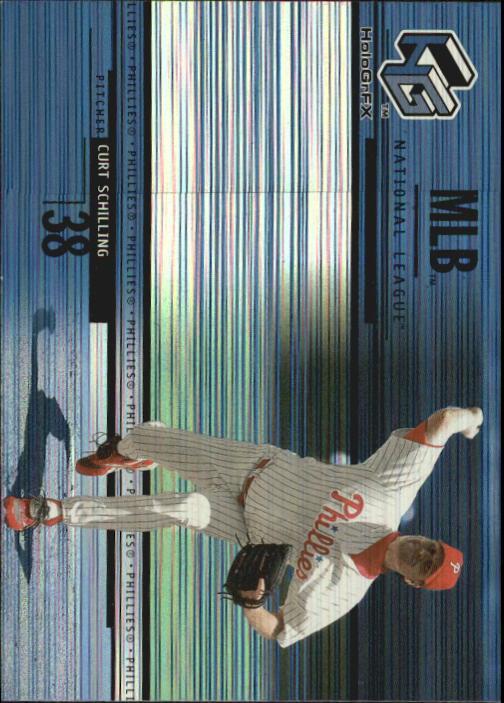 2000 Upper Deck HoloGrFX #60 Curt Schilling
