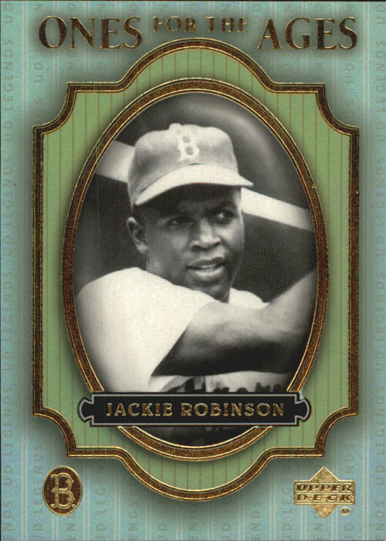 2000 Upper Deck Legends Ones for the Ages #O4 Jackie Robinson