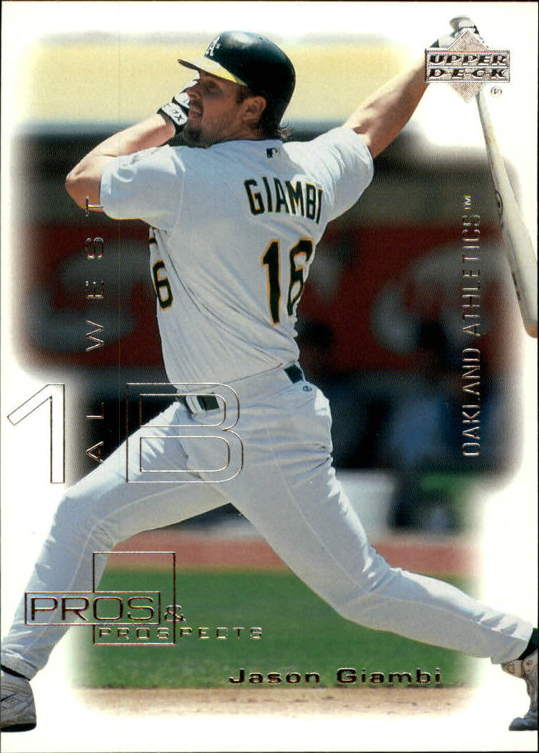 2000 Upper Deck Pros and Prospects #4 Jason Giambi