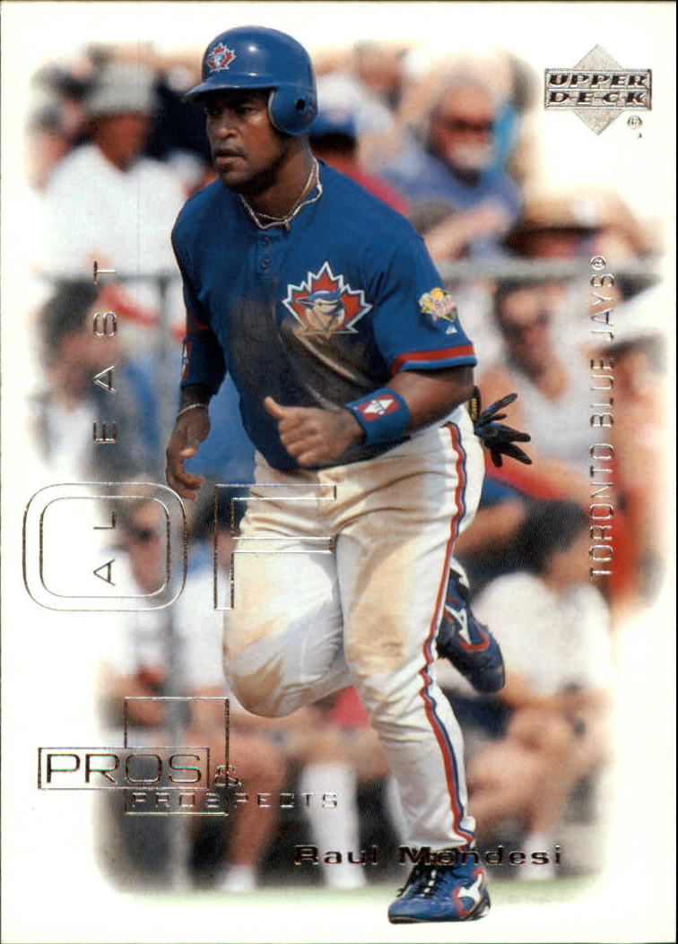2000 Upper Deck Pros and Prospects #9 Raul Mondesi